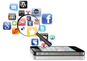The development and distribution process of mobile application development