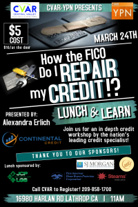 These businesses provide for their credit record.